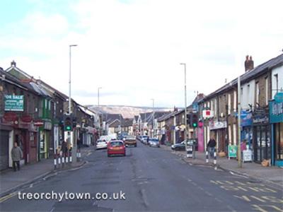 Bute Street & High Street, Treorchy