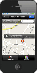 Looking Local iPhone app